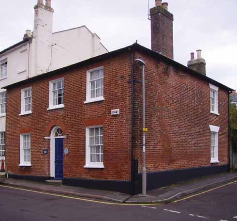 Dorset House in Dorset Street, Blandford, was the Counter family's residence for many years