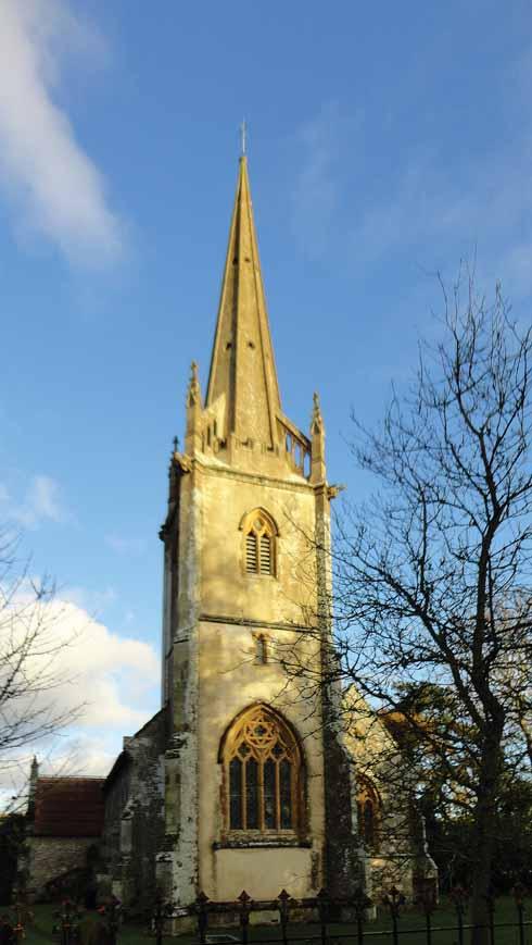 Sutton Waldron church