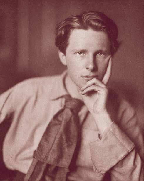 Rupert Brooke was, according to W B.Yeats, 'the handsomest young man in England'