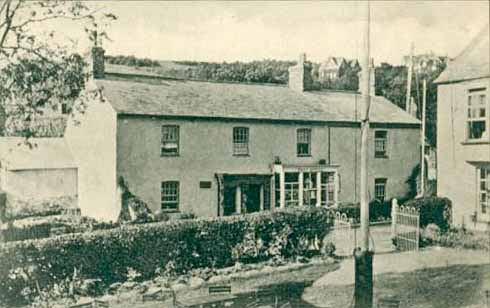 Brooke stayed several times in rooms above the Post Office in West Lulworth