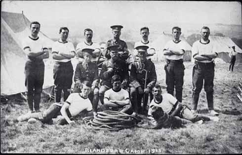 Blandford Camp before World War 1