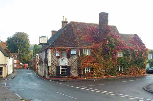 Brooke's inability to find the Fleur-de-Lys Inn in Cranborne inspired him to write a poem celebrating the delights he had missed there