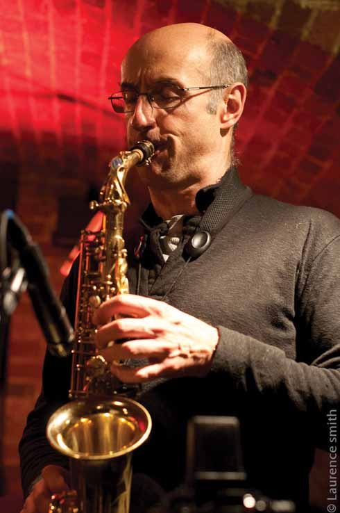 Martin Speake, one of the UK's leading saxophonists, enjoys playing at the Blue Boar because its audience is so open and receptive