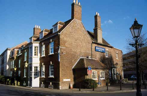 Underneath the Blue Boar is the venue for some of the best jazz in Dorset – indeed, in the UK