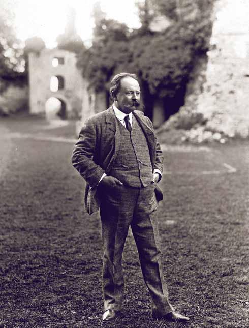 Sherborne Pageant impresario Louis Napoleon Parker (Dorset History Centre)