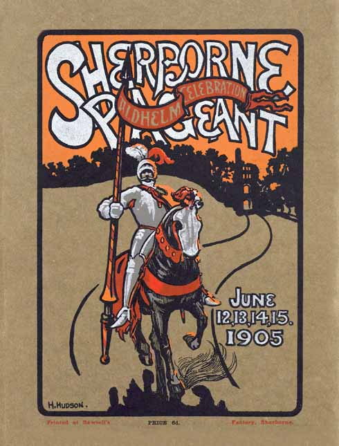 The Sherborne Pageant programme (Dorset History Centre)