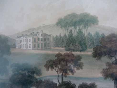 Minterne in around 1800