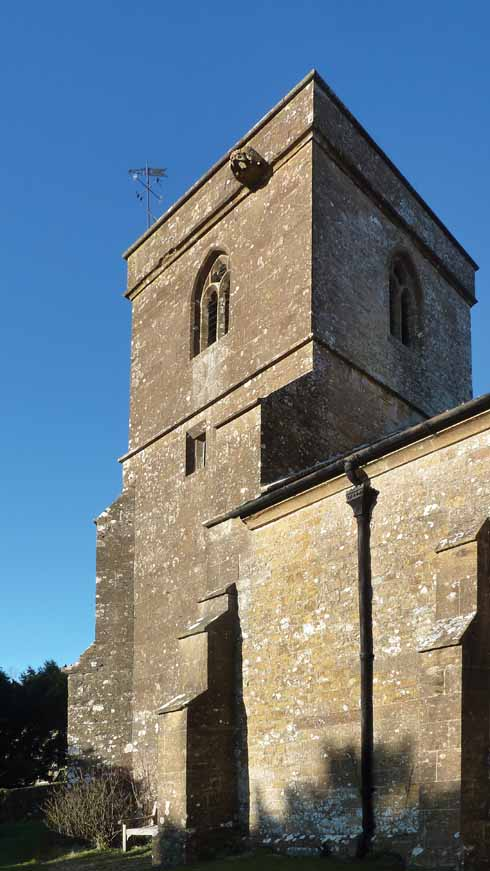 The church of St Mary, Stoke Abbott