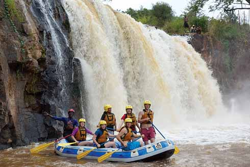 Rafting in Kenya