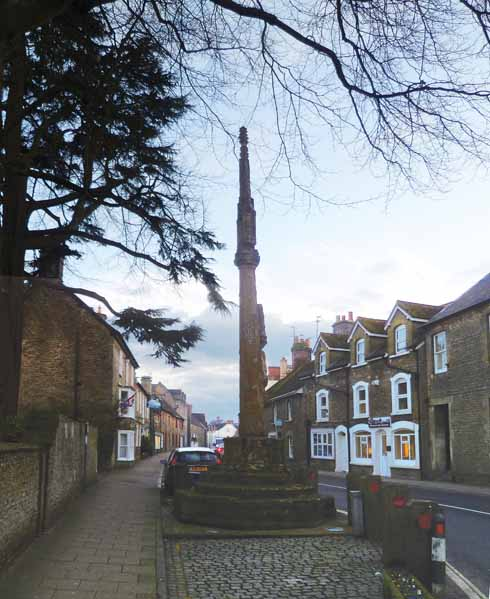 The market cross in Stalbridge