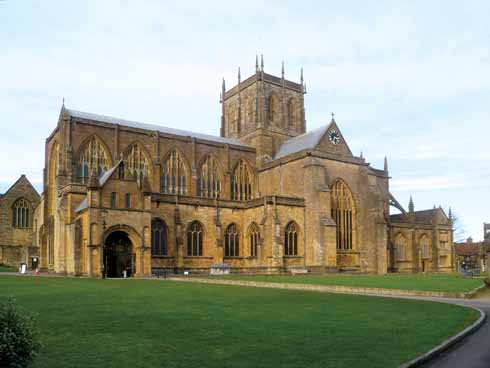 Sherborne (or Shireburn, as Defoe called it) Abbey: 'still a reverend pile, and shews the face of great antiquity'
