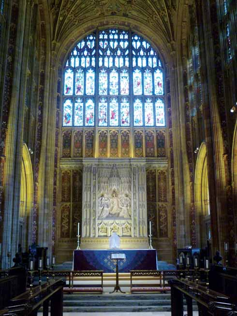 Sherborne Abbey – a 'conventual or collegiate church'