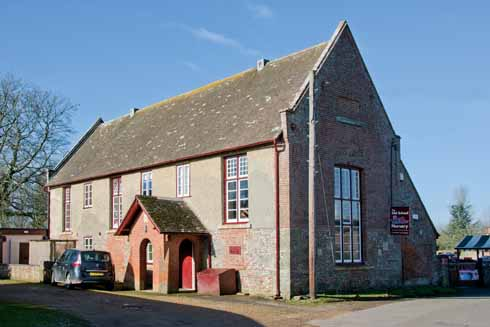 The Old School, which in a refreshing change to that of many former schools in Dorset villages, is now a nursery rather than yet another coverted home