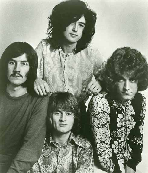 Led Zeppelin in 1969 (courtesy of Atlantic records)