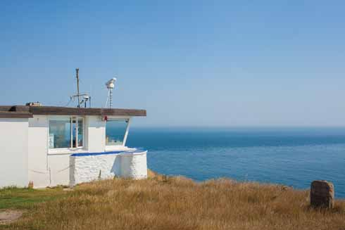 The NCI Coastwatch station at St Aldhelm's head