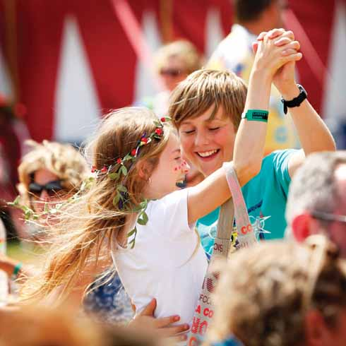 Larmer Tree kids 2014 (image: Carolyn White)