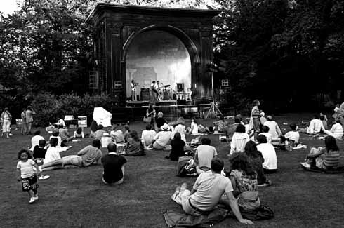 How it all started: Larmer Tree 1990