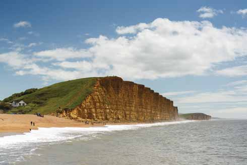Now one of the most recognisable views in the UK, the East Cliff at West Bay has become an exemplar of all things Dorset