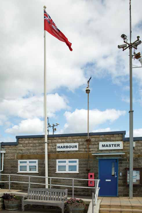 The only TV on which the 'Bridehaven' (ie West Bay) Harbour Master's office can now be viewed is CCTV as, sadly, Harbour Lights is no longer either shown or available to buy for UK play