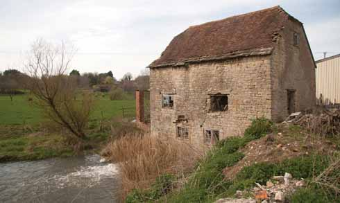 West Stour Mill, ironically, is in East Stour as the river forms the parish boundary