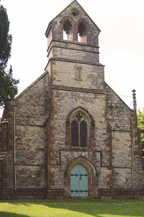 The church of St John the Baptist