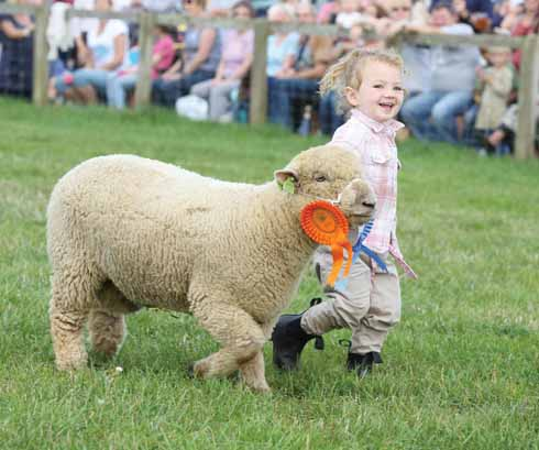 Meeting the next generation of livestock farmers is one of the best things about the show
