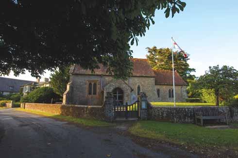 The church at Hammoon