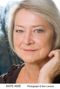 Kate Adie will be talking about her book Fighting on the Home Front