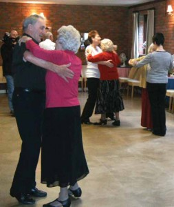 Ballroom dancing at Broadstone Dance Studio