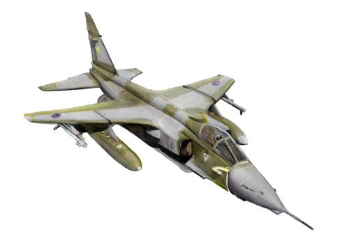 An RAF Jaguar