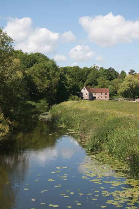 The iconic riverside scene that is Sturminster Mill