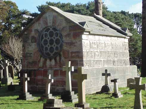 The Russell-Cotes mausoleum
