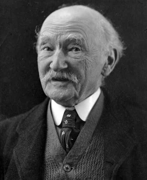 Thomas Hardy in later life