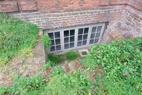 Yet another level of the Old House, this one below ground