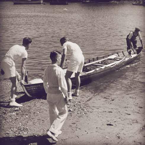 Christchurch RC's very first boat, 'Twynham'
