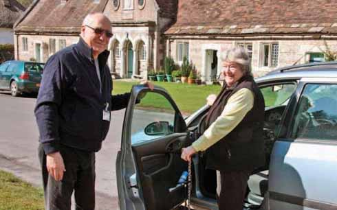 There is a range of transport options from Dorset's volunteer-run schemes