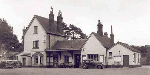 Gillingham station, 1950s