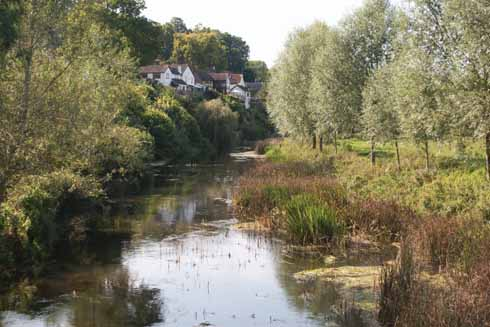 The River Stour at Spetisbury