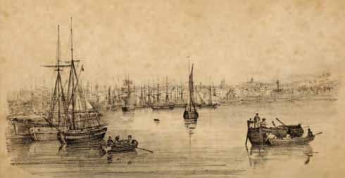 Poole Quay in the 19th century