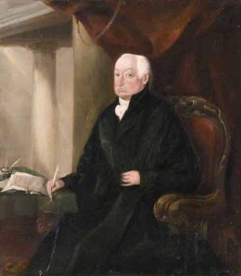 Thomas Bartlett, the Recorder of Wareham whose 'humane exertions were eminently conspicuous' in the disaster of 1806 (Wareham town Museum)