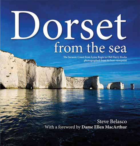 Steve Belasco's book, Dorset from the Sea, is published  by Veloce Publishing (01305 260068), www.veloce.co.uk.  It is available in two versions:  a hardback coffee table version (ISBN 978-1-845847-62-3) at £25, or a pocket souvenir version (ISBN 978-1-845847-64-7) at £9.99.