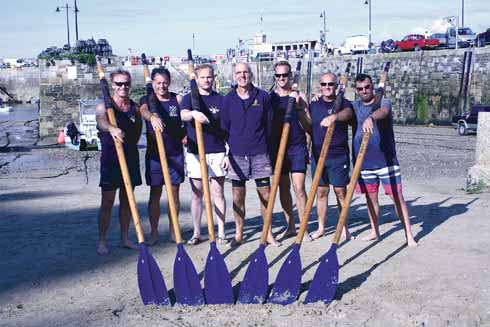 Lyme Regis Gig Club (LRGC) crew (Chris Bailey)