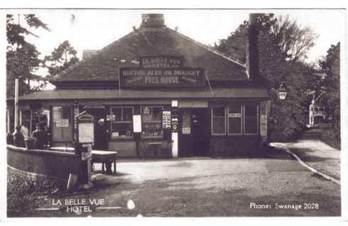 In its previous incarnation as the Belle Vue Hotel