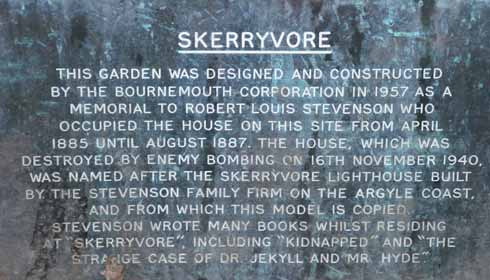 The tale of the house that isn't there: Bournemouth Council's informative plaque