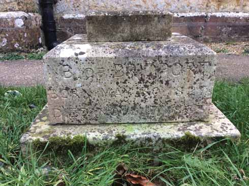 John Brown's grave in the churchyard of Holy Trinity, Bradpole, is inscribed:  'I. B. OF BRIDPORT BORN MAY 30 1827 DIED NOV 17 1863'
