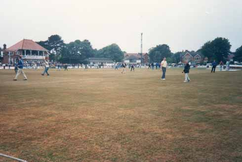 Spectators on the field at Dean Park in 1992 (Image: www.flickr.com/photos/thebunker43)
