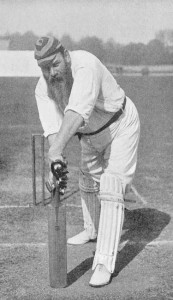 The most famous English cricketer of all captained the Gentlemen of the South at Dean Park in 1903