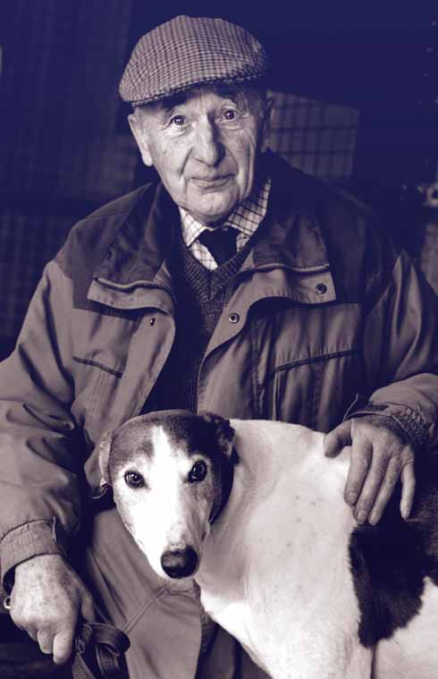 Living Treasure of Dorset - Cliff Standing, Greyhound trainer, Sturminster Newton
