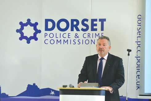 Martyn Underhill has been the face of Dorset policing since November 2012