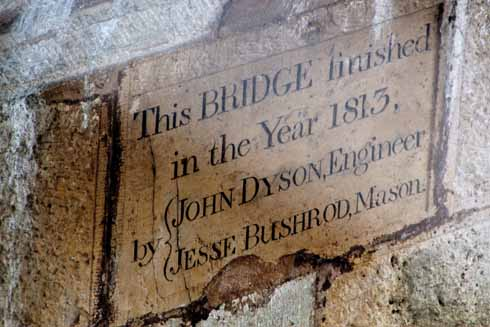 The engineer and mason for the Canford Bridge would be rightly proud that, 200 years on, their masterwork still stands